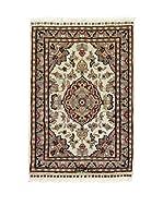 L'Eden del Tappeto Alfombra Kashmirian F/Seta Multicolor 60 x 88 cm