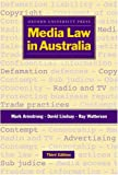Media Law in Australia: A Manual (0195536037) by Armstrong, Mark
