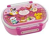 ポケットモンスター(ベストウィッシュ) 食洗機対応タイトランチボックス小判 (ピンク) QA2BA