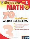 Singapore Math:70 Word Problems L.3 Gr.4