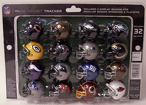 riddell-32-piece-nfl-helmet-tracker-set-gumball-size-helmets-new-dolphins-bucs-jaguars-and-browns-lo