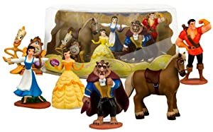 Beauty and the Beast Mini-Figure Play Set