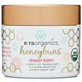 Diaper Rash Cream 2oz. USDA Certified Organic Soothing Diaper Rash Treatment for Sensitive Skin. Natural Ointment to Nourish and Protect from Moisture, Infection, Chaffing and Irritation.