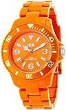 ICE-Watch - Montre Mixte - Quartz Analogique - Ice-Solid - Orange - Unisex - Cadran Orange - Bracelet Plastique Orange - SD.OE.U.P.12