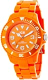 Ice Watch Women Solid Orange Plastic Watch
