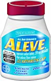 Aleve Tablets with Easy Open Arthritis Cap 200ct (Pack of 2)