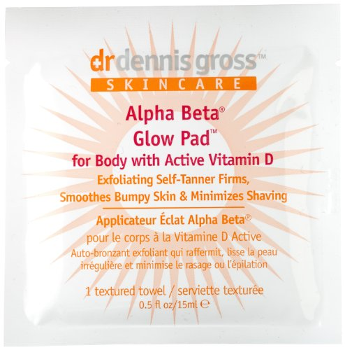 Dr. Dennis Gross Skincare Alpha Beta Glow Pad, 8 Count