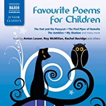 Favorite Poems for Children Audiobook by Lewis Carroll, James Reeves, Oliver Herford, Edward Lear, Kenneth Grahame, Hilaire Belloc, William Blake, Thomas Hardy Narrated by Katinka Wolf