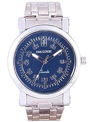 Time Expert Analogue Blue Dial Men's Watch - TE100304