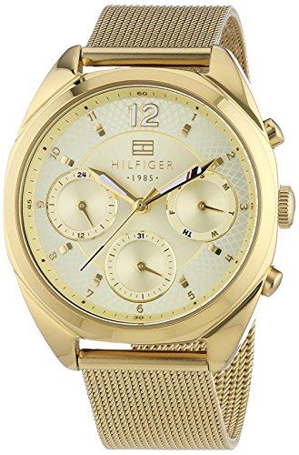 Tommy Hilfiger Watches - Orologio da polso, analogico al quarzo, rivestito in acciaio INOX