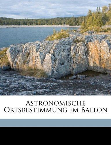 Astronomische Ortsbestimmung Im Ballon