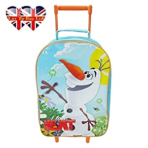 Disney Frozen Olaf Wheeled Bag (Mini Suitcase)