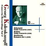 Georg KulenkampffViolin Concerto Recordings Vol 2