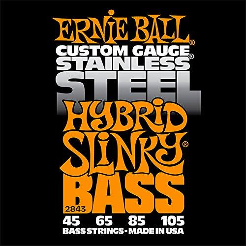 Ernie Ball 2843 Hybrid Slinky Stainless Steel Bass Set (45 - 105)