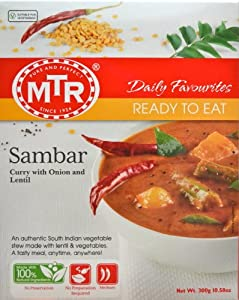 MTR Sambar, 10.58 Ounce Boxes (Pack of 10) from MTR