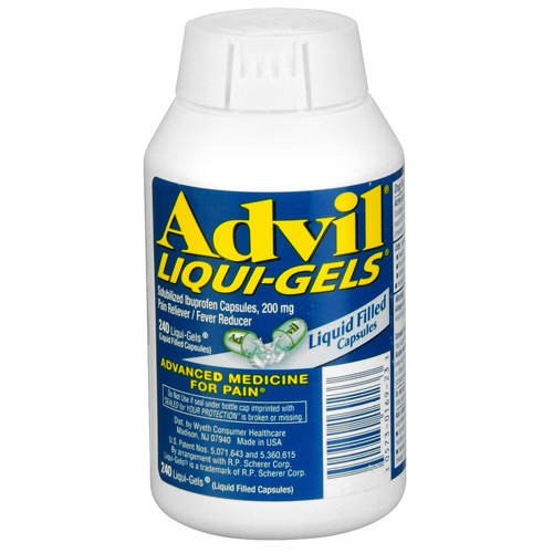 Advil Liqui-Gels-Ibuprofen Pain Reliever, 240ct