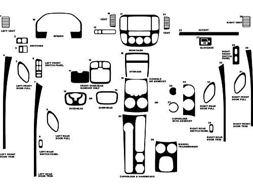 rdash-dash-kit-decal-trim-for-ford-escape-2001-2007-wood-grain-burlwood-dark