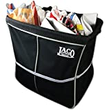 JACO Premium Car Trash Can Organizer with Leakproof Litter Bag - Heavy Duty Hanging Auto Garbage Container