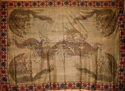 Oriental Dragon Tapestry Throw Versatile Home Decor front-750412