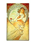 Artopweb Panel Decorativo Mucha Painting Multicolor