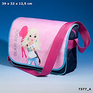 topmodel messenger bag christy schulter umh nge tasche blau rosa nr 7377 koffer. Black Bedroom Furniture Sets. Home Design Ideas