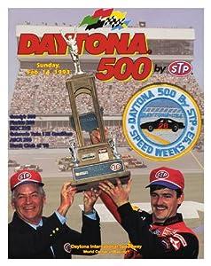 35th Annual 1993 Daytona 500 Canvas 36 x 48 Program Print - Mounted Memories... by Sports Memorabilia