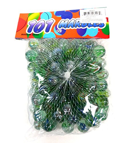 101 Pieces Glass Marble for Party Favor Decoration Fish Tank