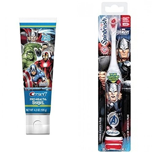 arm-and-hammer-spinbrush-marvel-heroes-thor-powered-toothbrush-crest-pro-health-stages-marvel-avenge