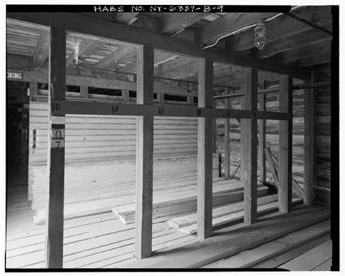 Historic Photo Fort Drum Lumber Storage Shed