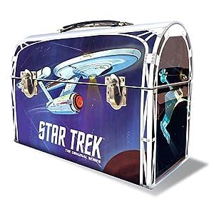 Round 2 Star Trek: The Original Series: 1:1000 Enterprise Model Kit with Lunchbox Packaging