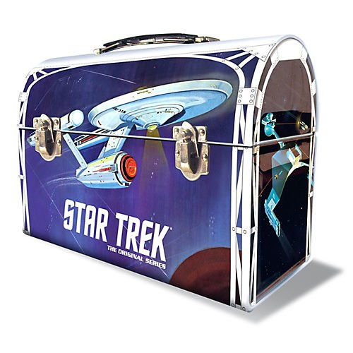 Round 2 Star Trek: The Original Series: 1:1000 Enterprise Model Kit with Lunchbox Packaging (Star Trek Lunch Box compare prices)