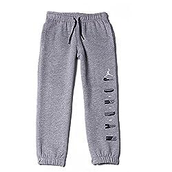 Jordan Boys' Track Pant (617845209712_Grey_5 - 6 Years)