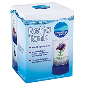 Cambridge aquatics betta tank fish tank for Betta fish tanks amazon