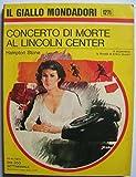 img - for Concerto di morte al Lincoln Center book / textbook / text book