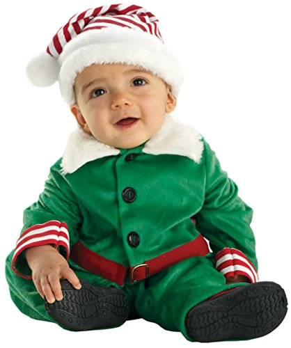 Boys Elf Toddler Kids Child Fancy Dress Party Halloween Costume