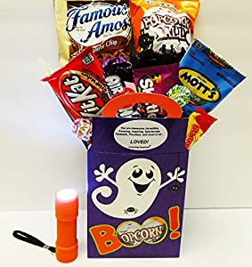 Unlocking Greatness You Are Loved Halloween Gift Basket: Boo to You