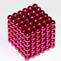 Sphere Magnet Set - 5mm - Pink