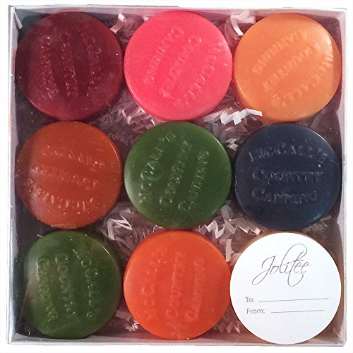 McCall's Scented Wax Candles Buttons Sampler, 9 Pieces- Fall Fun (Tin Tart Burner Electric compare prices)
