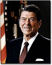 President Ronald Reagan Portrait 11x14 Silver Halide Photo Print