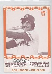 Bob Hansen (Baseball Card) 1976 Spokane Indians Caruso #17 by Spokane Indians Caruso