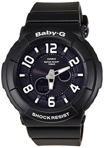 Baby-G Neon Illuminator Black Dial Women's watch #BGA132-1B