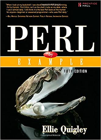 Perl by Example (5th Edition) written by Ellie Quigley