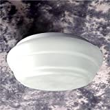 Glowmac GL-CL-ELITE-xx-2R018 Elite CFL Ceiling Light (Pack Of 2, Glossy White)