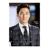 カレンダー 2015年「平成27年」 【韓国俳優】 JiJinHee チ・ジニ 2015年 マグネットカレンダー [mc-hee02]