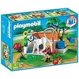 Playmobil - 4193 - Jeu de construction - Box de lavage pour chevaux