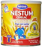 Nestle Cerelac Wheat with Milk Cereal 1410 Ounce by Gerber Baby Cereal