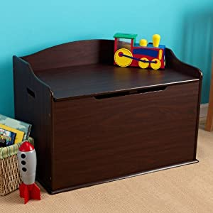 Kidkraft Austin Toy Box Espresso from KidKraft