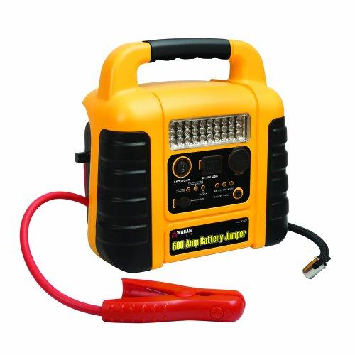Wagan El2509 600 Amps Battery Jumper Ii With Air Compressor