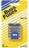 Bussmann BP/SFE-20 20 Amp Fast Acting Glass Tube Fuse