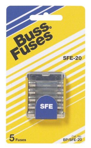 Bussmann BP SFE-20 20 Amp Fast Acting Glass Tube FuseB0000AXOKK